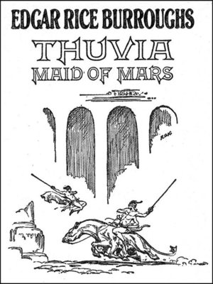 cover image of Thuvia Maid of Mars