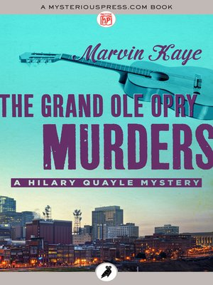 cover image of The Grand Ole Opry Murders