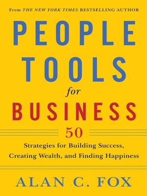 cover image of People Tools for Business