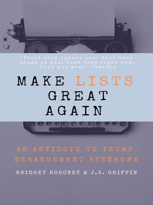 cover image of Make Lists Great Again