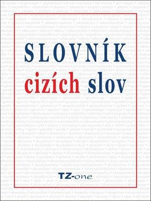 cover image of Slovník cizích slov