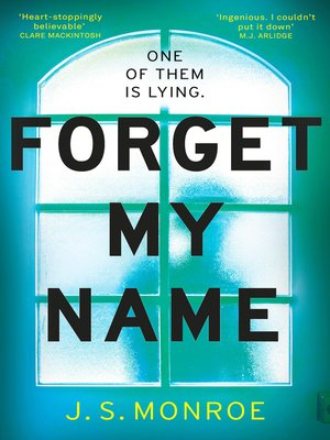 cover image of Forget My Name