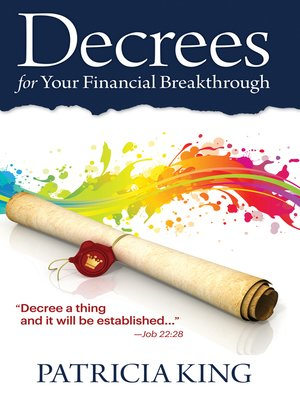 cover image of Decrees for Your Financial Breakthrough