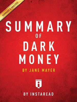 cover image of Summary of Dark Money