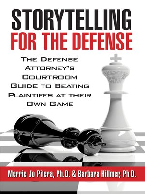 cover image of Storytelling for the Defense