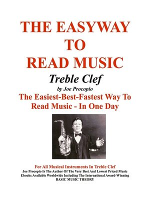 cover image of The Easyway to Read Music Treble Clef