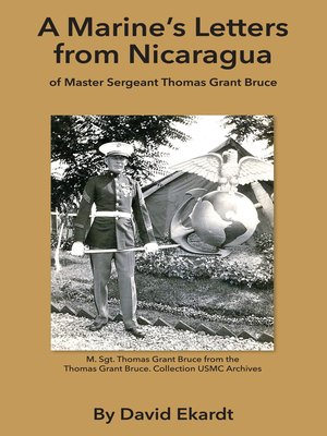 cover image of A Marine's Letters from Nicaragua
