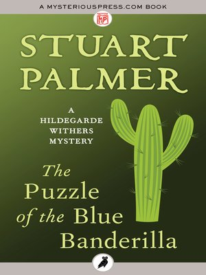 cover image of The Puzzle of the Blue Banderilla