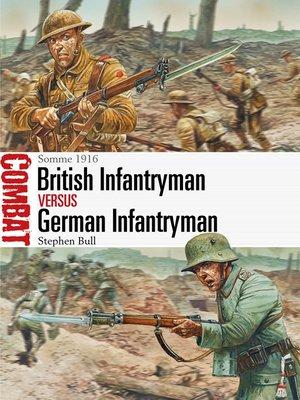 cover image of British Infantryman vs German Infantryman