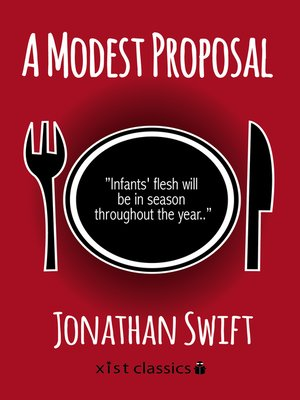 A Modest Proposal by Jonathan Swift  Satire and Social Commentary