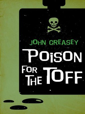 cover image of Poison For the Toff