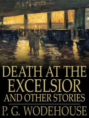 cover image of Death at the Excelsior and Other Stories