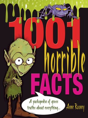 cover image of 1001 Horrible Facts