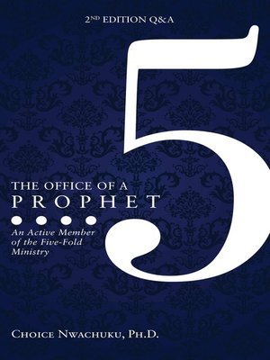 cover image of The Office of a Prophet- With Q & A