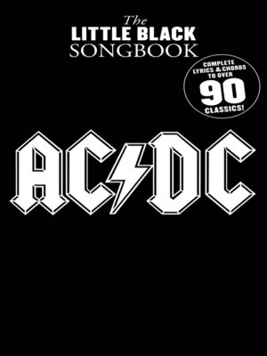 cover image of The Little Black Songbook: AC/DC