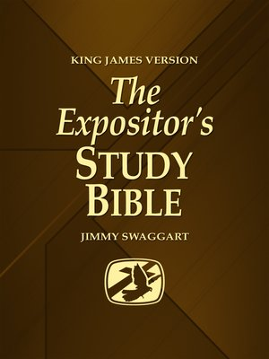cover image of The Expositor's Study Bible