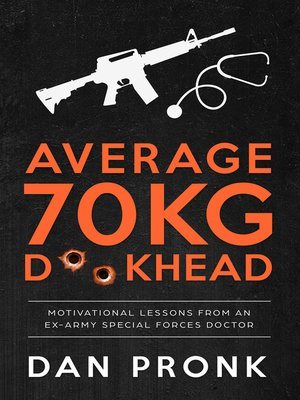 cover image of Average 70kg D**khead