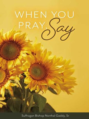 cover image of When You Pray, Say