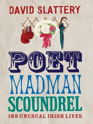 cover image of Poet, Madman, Scoundrel