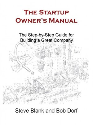 cover image of The Startup Owner's Manual