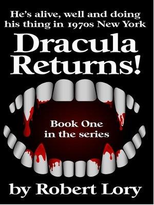 cover image of Dracula Returns