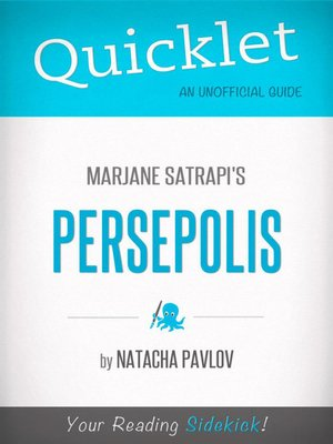 cover image of Quicklet on Marjane Satrapi's Persepolis