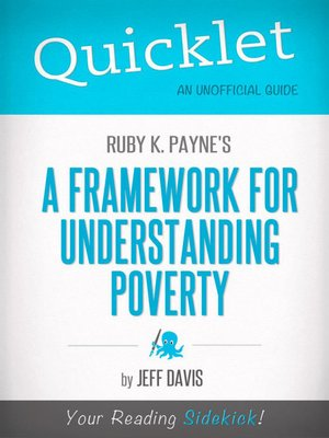 cover image of Quicklet on Ruby K. Payne's a Framework for Understanding Poverty