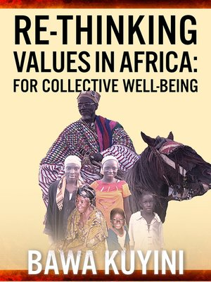 cover image of Re-Thinking Values in Africa