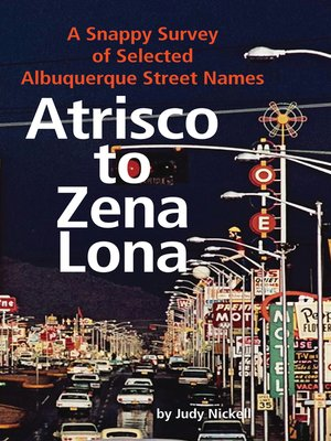 cover image of Atrisco to Zena Lona