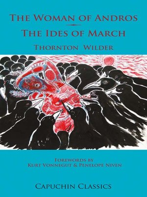 cover image of The Woman of Andros and The Ides of March