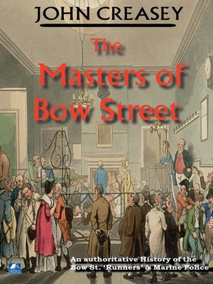 cover image of The Masters of Bow Street