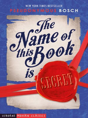 cover image of The Name of this Book is Secret