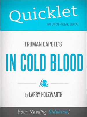 cover image of Quicklet on Truman Capote's in Cold Blood