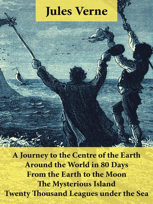 cover image of 5 Jules Verne Classics