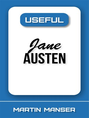 cover image of Useful Jane Austen