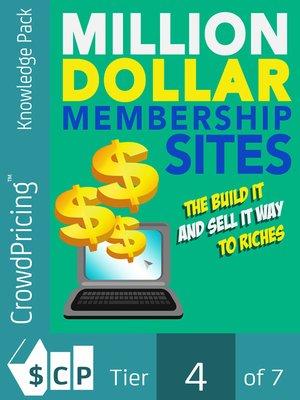 cover image of Million-Dollar Membership Site