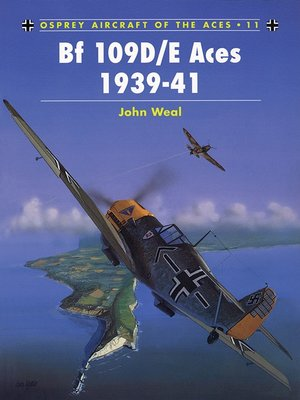 cover image of Bf 109D/E Aces 1939-41