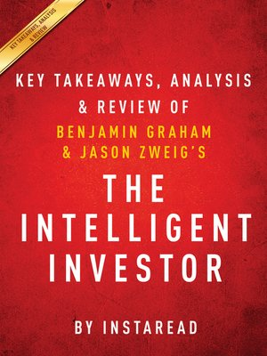 cover image of The Intelligent Investor