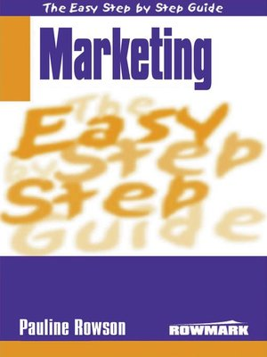 cover image of Easy Step by Step Guide to Marketing