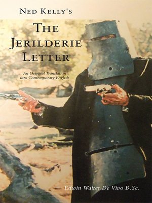 cover image of Ned Kelly's the Jerilderie Letter