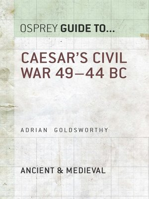 cover image of Caesar's Civil War