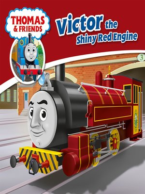 cover image of Victor the Shiny Red Engine