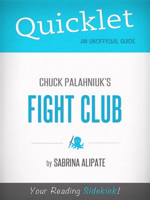 cover image of Quicklet on Fight Club by Chuck Palahniuk
