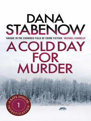 cover image of A Cold Day for Murder