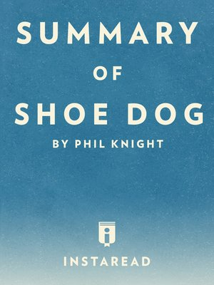 cover image of Summary of Shoe Dog