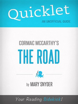 cover image of Quicklet on the Road by Cormac Mccarthy