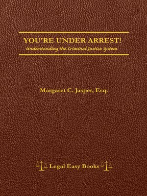 cover image of You're Under Arrest!
