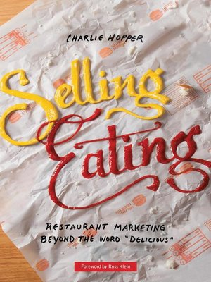 cover image of Selling Eating