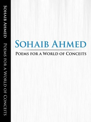 cover image of Poems for a World of Conceits