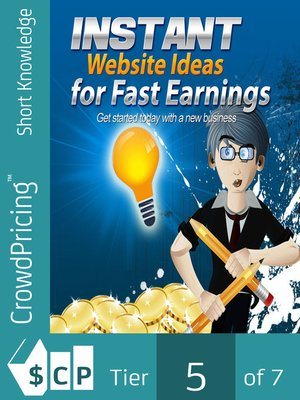 cover image of Instant Website Ideas for Fast Earnings